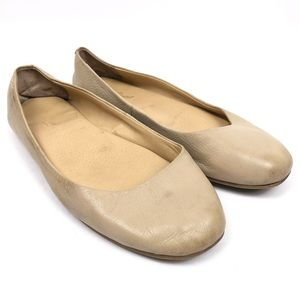 LUCKY BRAND Brenna Nude Beige Ballet Flats Shoes
